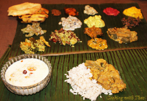 How to make sadya or keralas flavorful veggie palette onam sadya sadya forumfinder Image collections