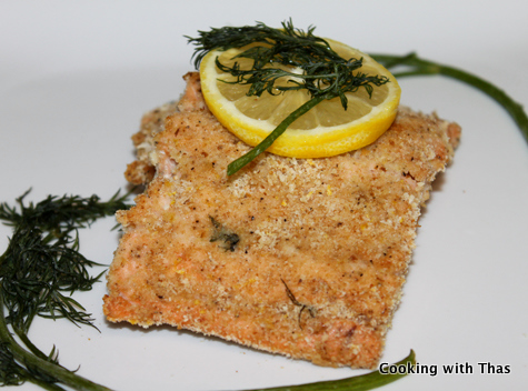 Baked Succulent Salmon Fillets