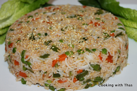 Sesame fried rice cake cooking with thas the ccuart Image collections