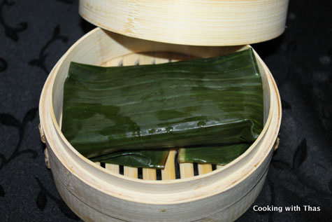 how to cook dumplings in bamboo steamer