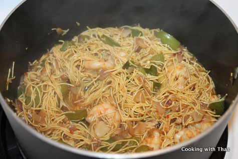 Recipe Center - Shrimp Chow Mein