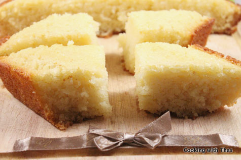 Egyptian Semolina Cake Recipe