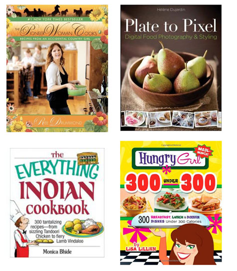Cookbooks Giveaway Winner Annoucement