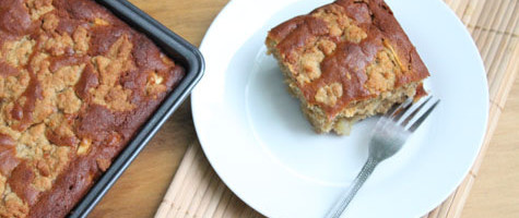 Apple Crumble Cake Gluten Free Optional Cooking With Thas