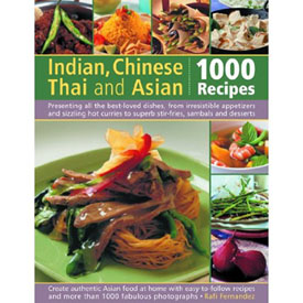 Book review indian chinese thai and asian 1000 recipes book review by cooking with thas forumfinder Choice Image