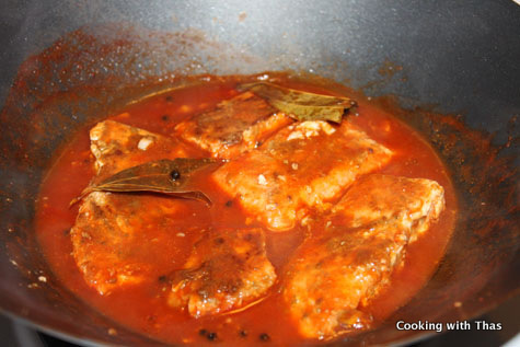 Salmon in Tomato Sauce | Cooking with Thas