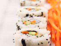 Vegetarian Sushi-rolls