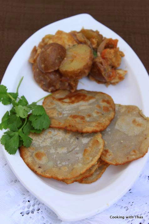 Buckwheat Poori Or Fried Buckwheat Flatbread Gluten Free
