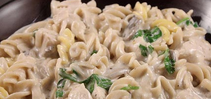 Recipes for chicken mushroom pasta