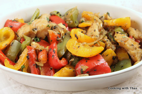 Fish and mixed pepper stir fry cooking with thas for Fish sauce stir fry