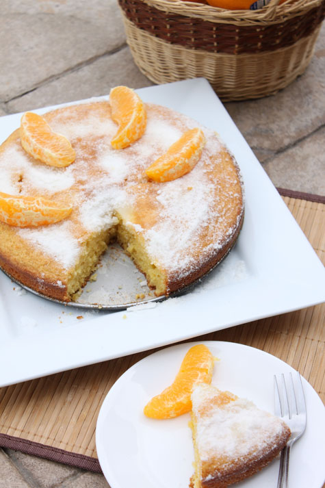 Orange Cornmeal Cake – Gluten Free | Cooking with Thas