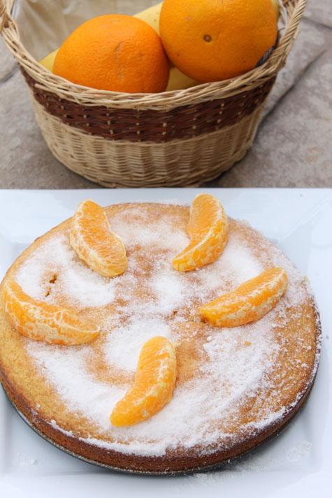 Orange Cornmeal Cake – Gluten Free | Cooking With Thas