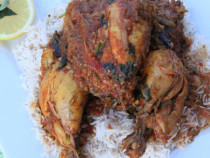 whole chicken curry