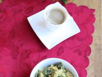 quinoa scrambles eggs