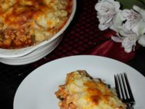 chicken-mashed potatoes casserole
