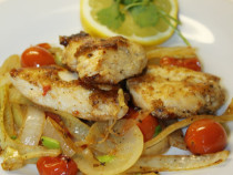 pan fried cajun-chicken