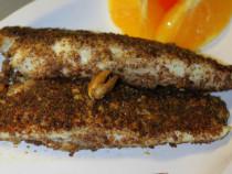 walnut crusted tilapia