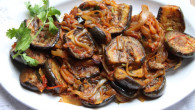 eggplant-stir fry