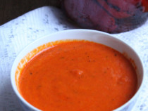 roasted red pepper-sauce