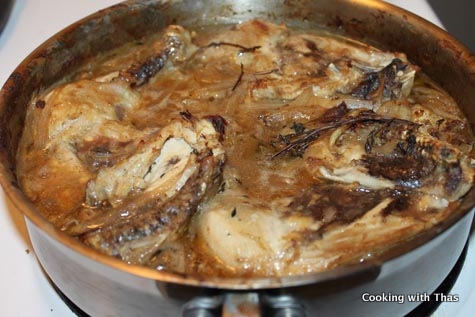 Chicken Normandy – Juicy and delicious | Cooking with Thas