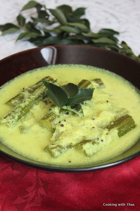 drumstick-coconut curry