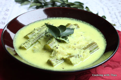 drumstick coconut curry