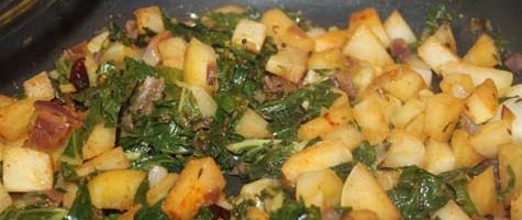 Cooked Kohlrabi