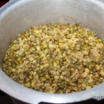 cooked mung bean