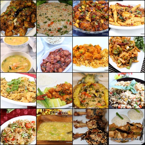 indo chinese recipe collection