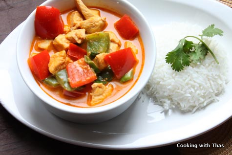 Thai chicken curry recipes easy