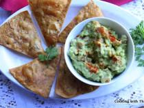 easy-avocado dip