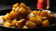 asian flavored oven roasted butternut squash