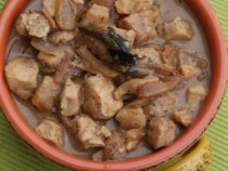 fennel-chicken korma