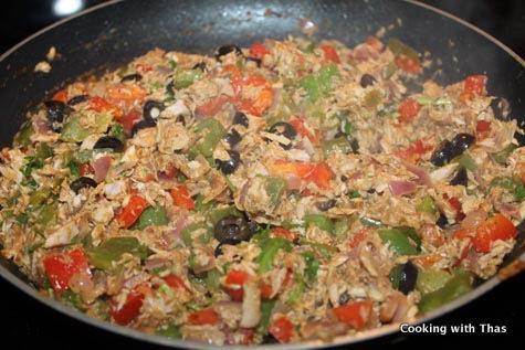 tuna mix