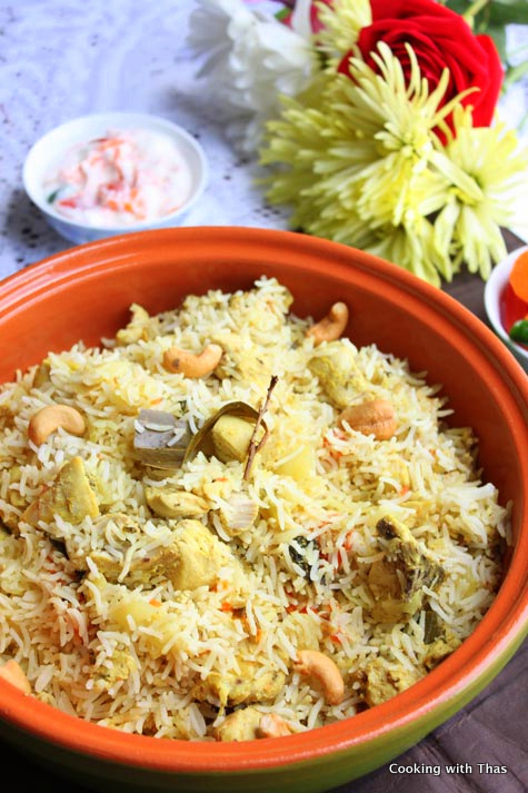 express-chicken biryani