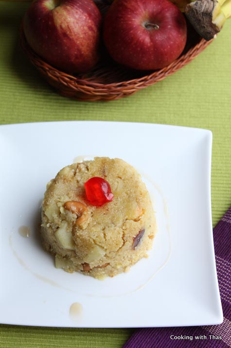 fruit and nut-upma