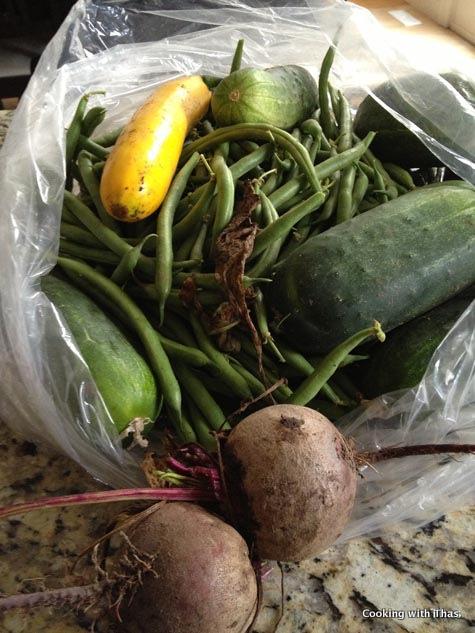 veggie picking