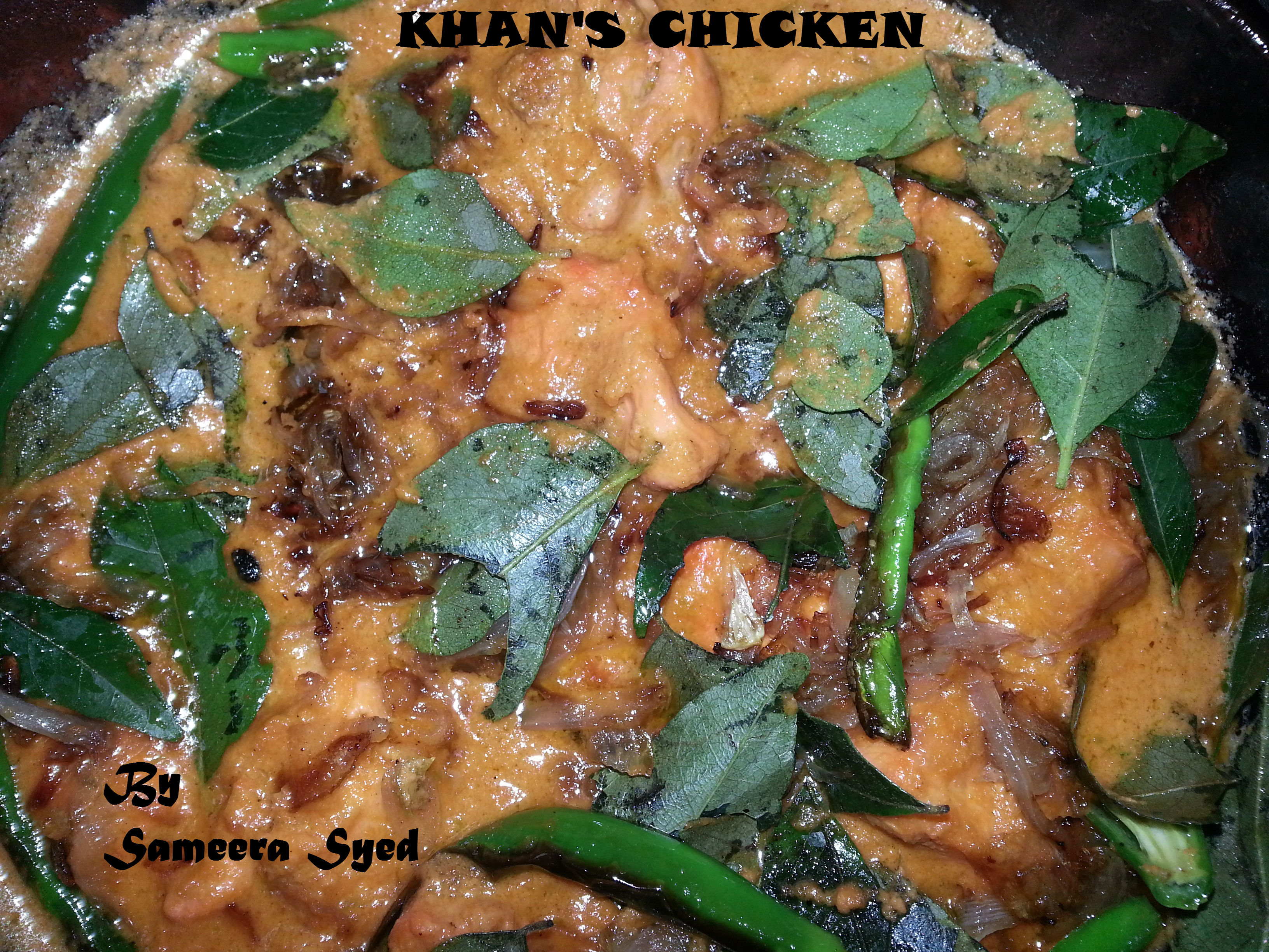Khan's Chicken