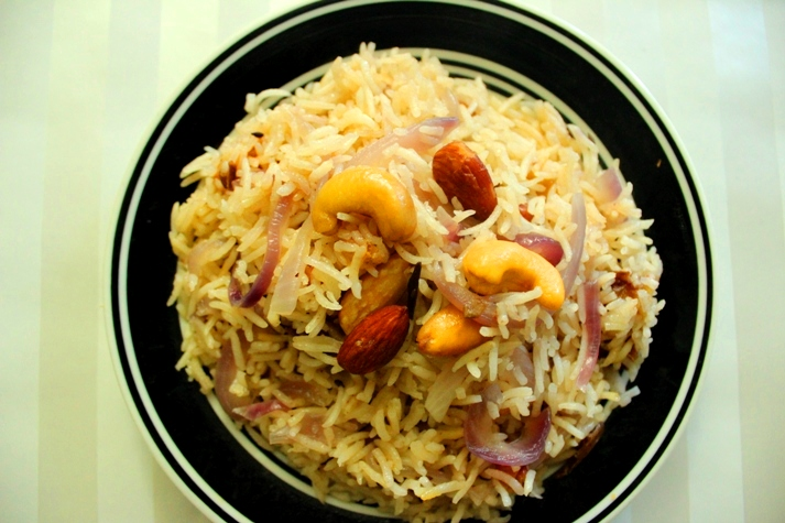 dried fruits rice