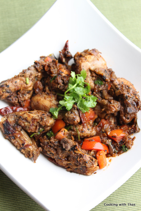 chicken-in tamarind sauce