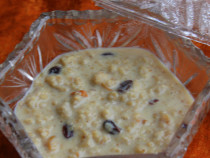 oats and nuts payasam