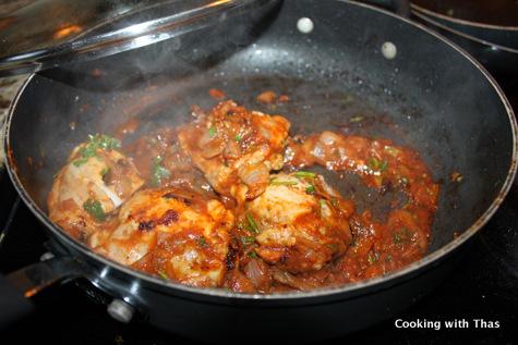 making star anise chicken
