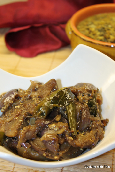 Sweet And Sour Eggplant Or Eggplant Pickle | Cooking With Thas