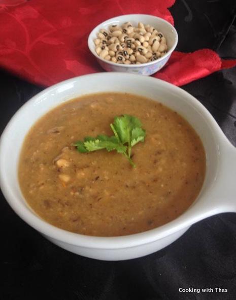 black eyed peas-soup