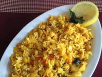 lemon chick peas rice