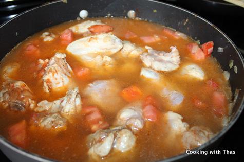 making-chicken-kabsa