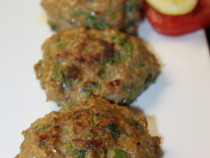 spinach chicken-patties