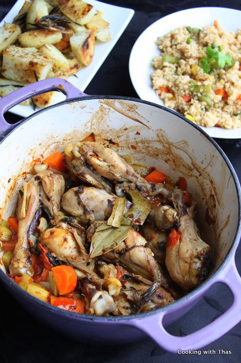 chicken-legs casserole