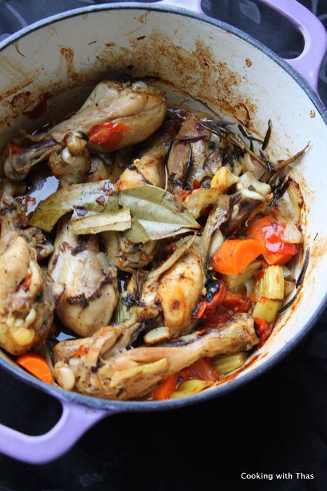 chicken legs casserole