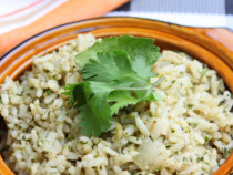 cilantro mint rice